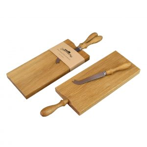 Cheese Board and Knife